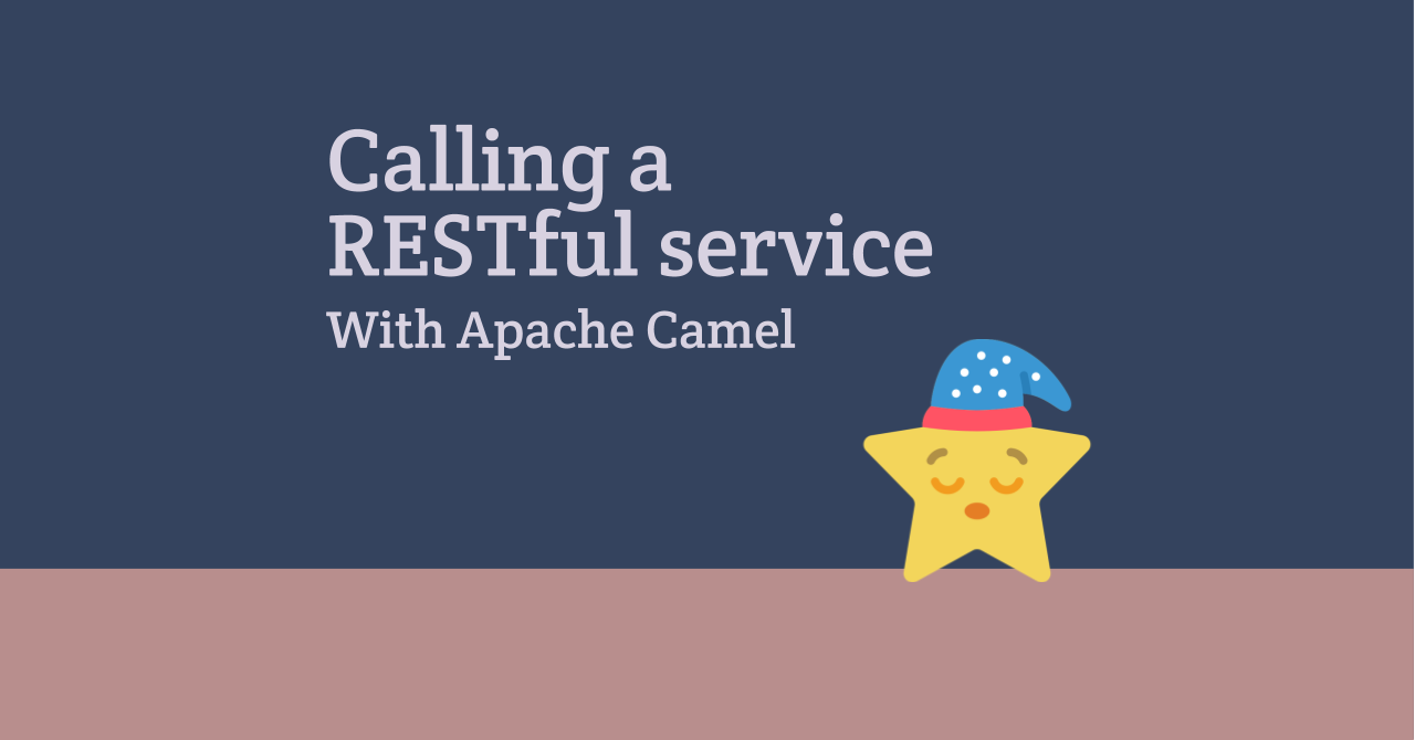 Calling a RESTful service from Apache Camel