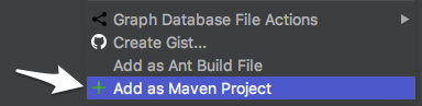 Add as Maven Project in IntelliJ