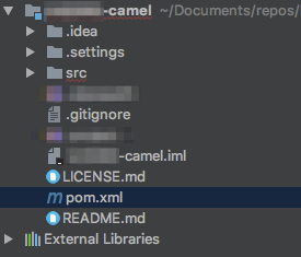 pom.xml with Maven icon in IntelliJ